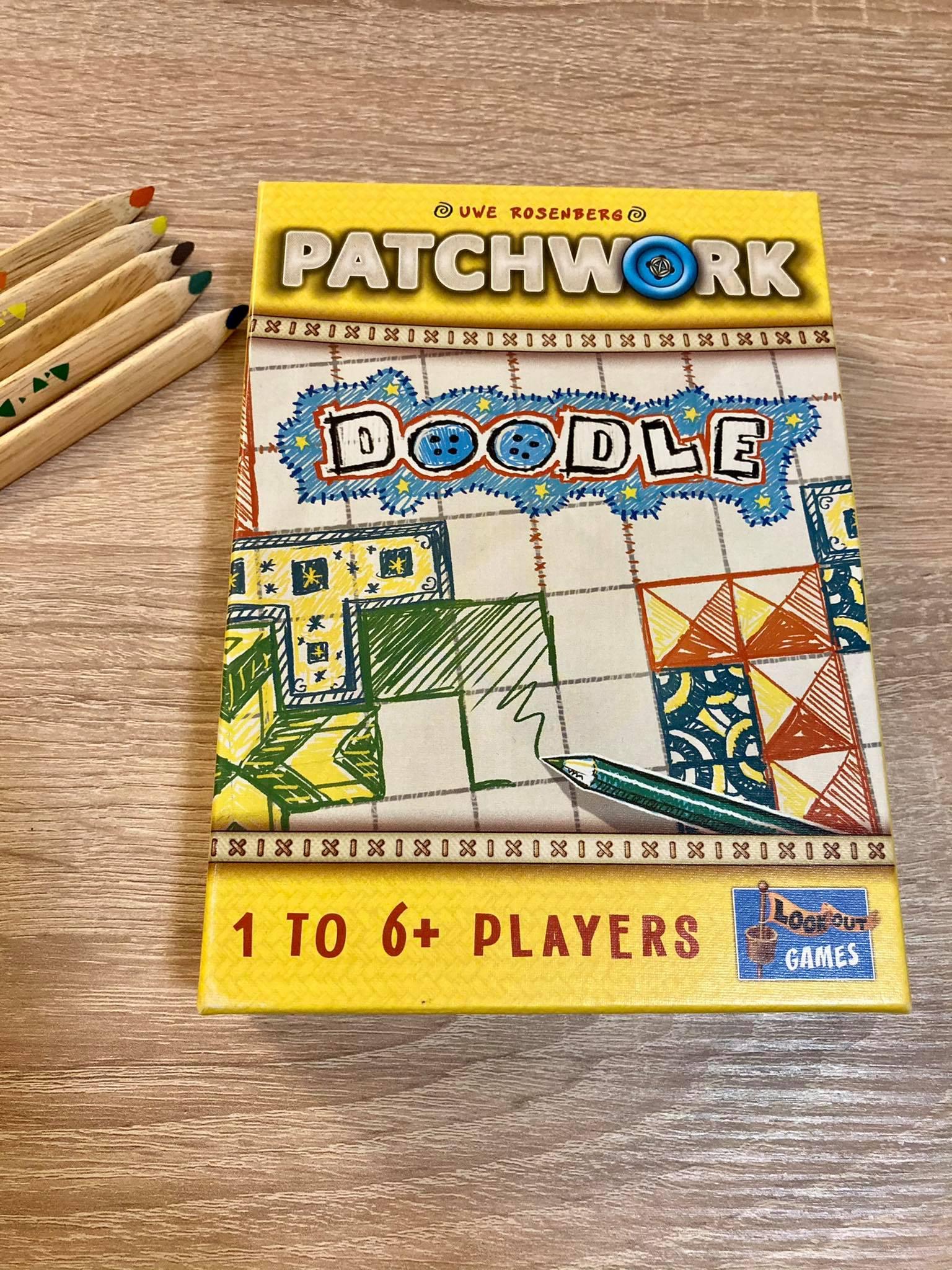 Patchwork Doodle - náhled krabice